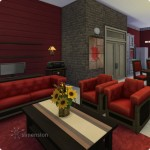 Sims 4 Download – classic familiy home Mia: living area