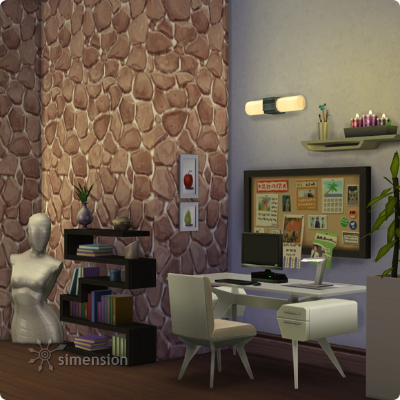 Sims 4 Download – BAUmeister Rustic Stone Wall Maxismatch: example study