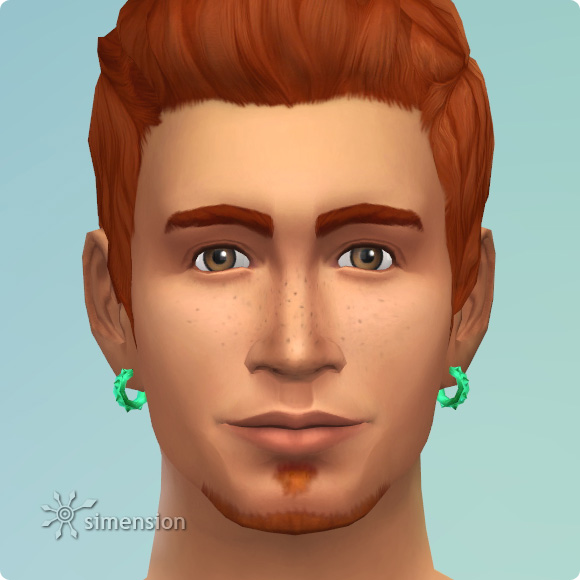 Sims 4 Download – Überkandidelt Earring Piekant Spikelette